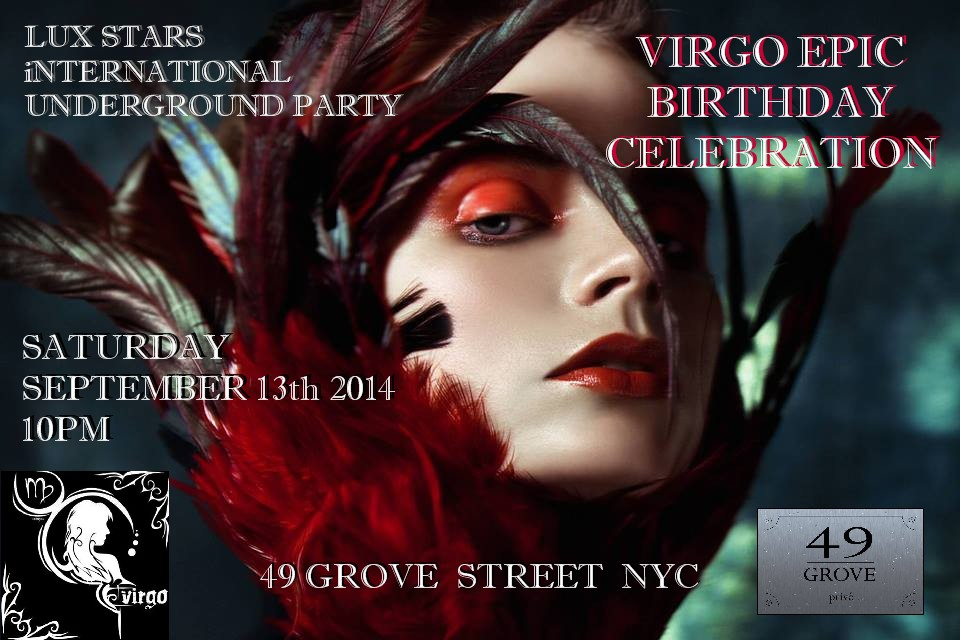 » Virgo Birthday Celebration 49 Grove Sept 13 | DEG ...