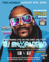 Snoop Dogg Coolaid release party August 8